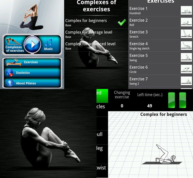 aplicativo pilates android