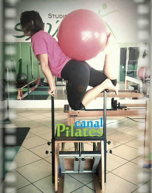 chair bola pilates