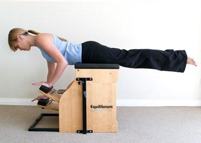 exercício braços chair