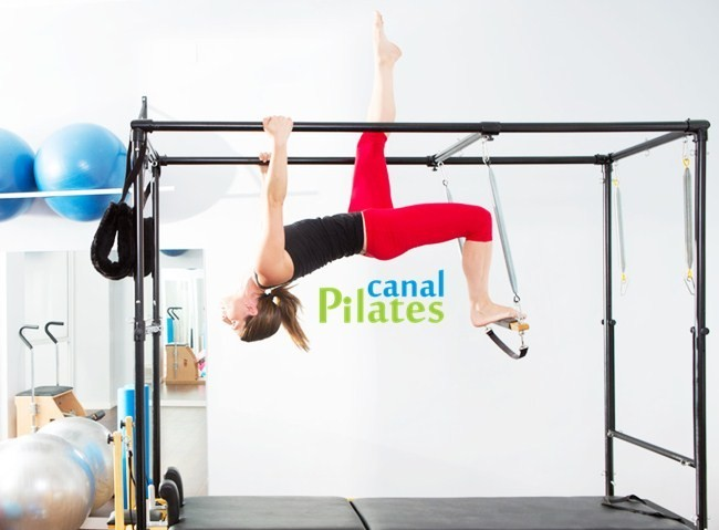 exercício cadillac pilates