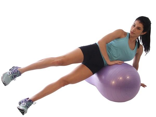 exercício peanut ball
