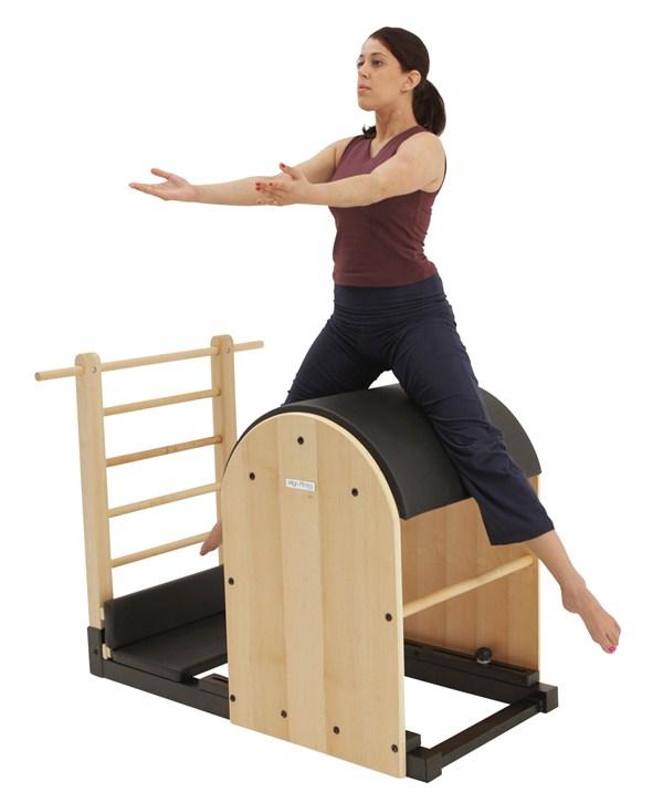 exercício pernas barrel