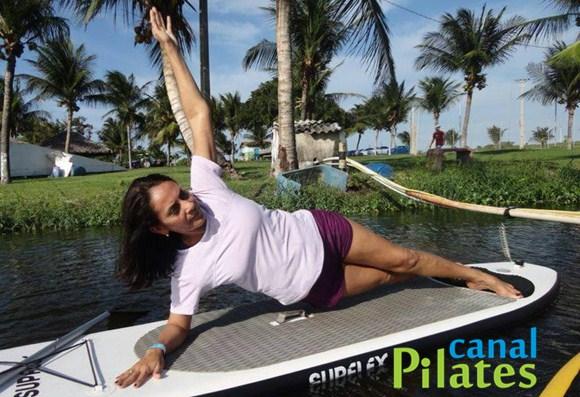 pilates prancha