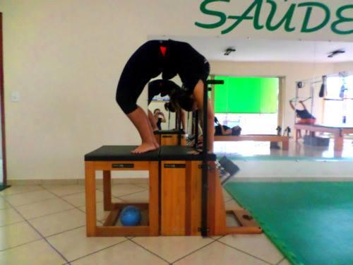 posição 2 chair pilates