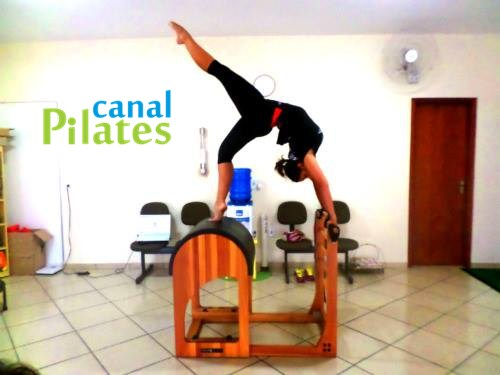 posição ladder barrel pilates