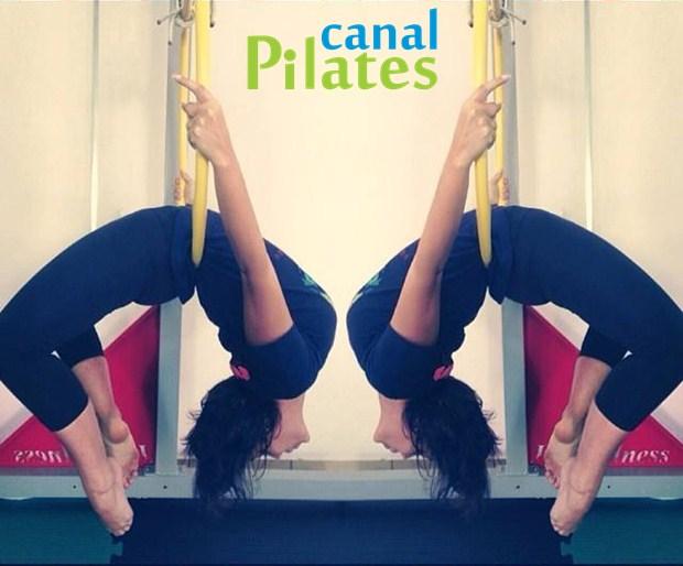 posição pilates suspenso