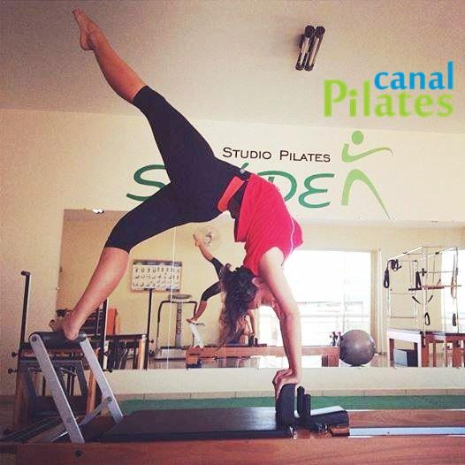 posição reformer pilates